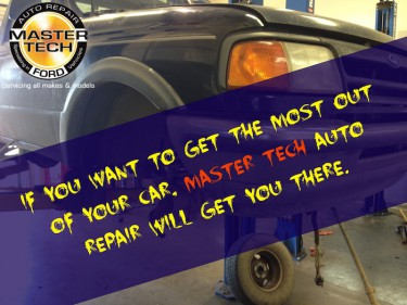 If you want to get the most out of your car, Master Tech Auto Repair will get you there.