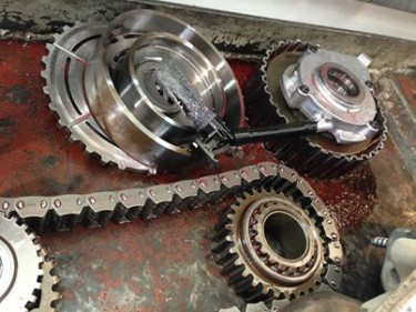 Inside a transfer case