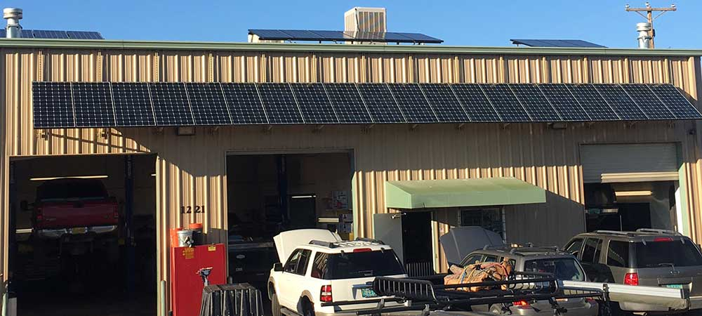 Master Tech Auto Repair - Solar Panels