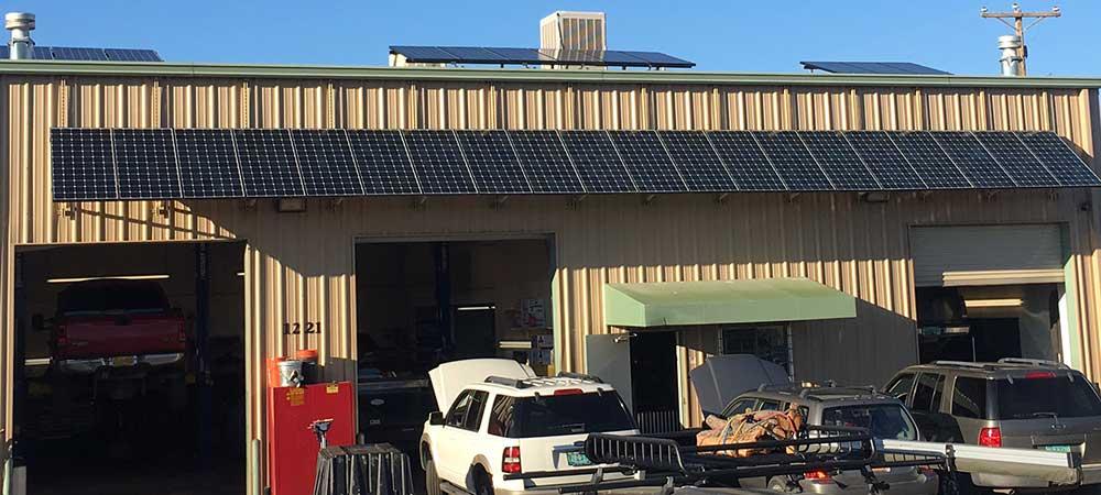Master Tech Auto Repair - Solar Panels